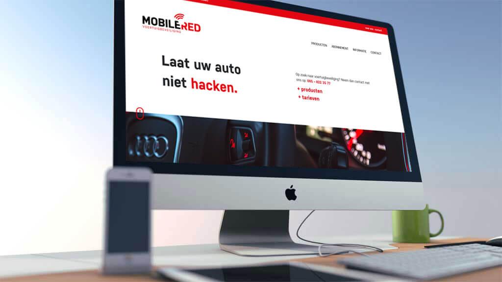 Lancering nieuwe website Mobile RED