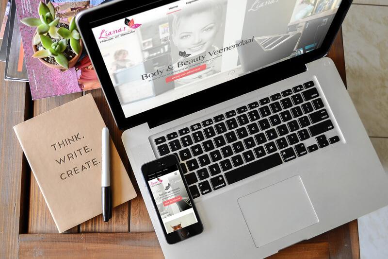 Nieuwe website Liana's House of Beauty