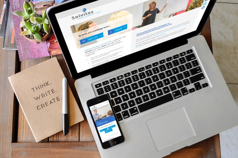 Gloednieuwe website voor Solvitas
